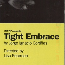 Postcard for the theatrical production, Tight Embrace