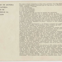 "Program for the production, ""Un viaje entretenido (Teatro Musical de La Habana)"