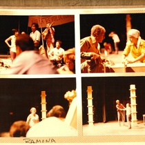 Photographs of the production Ramona