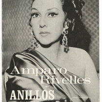 "Program for the production, ""Anillos para una dama"""