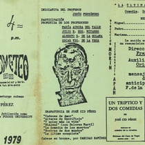 "Program for the production, ""La última conquista"" (New York, 1979)"