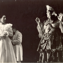 Photograph of the theatrical production, Plácido