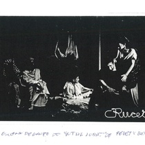 "Copies of photographs of the production, ""Un tal Judas"""