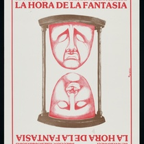 "Poster for the production,""La hora de la fantasía"""