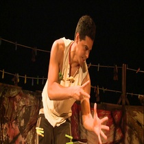 "Photographs of the Production, ""Fango"" (Madrid)"