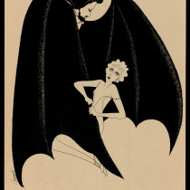"Poster for the production,""Drácula 1928"""