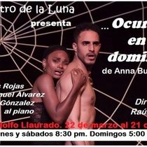 "Poster for the production, ""Ocurre en domingo"""