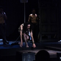 "Photograph of the Production, ""Talco, un drama de tocador"""