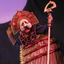 "Photographs of the production, ""Federico de noche"""