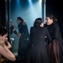 "Photograph of the Production, ""Las últimas criadas"""