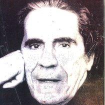 Copy of a photograph of Francisco Morín