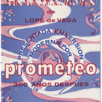 "Program for the production, ""La dama boba"""