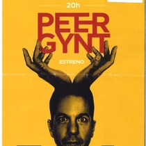 Program for the theatridal production, Peer Gynt (Madrid)