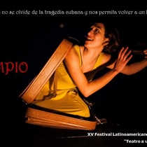 Postcard for the production, El columpio