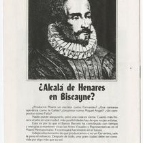 "Playbill for the production, ""La dama de las camelias"""