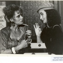 Micheline Calvert and Sandra García in the production, Rosa de dos aromas