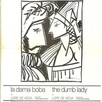 "Program for the production, ""The dumb Lady"" (New York, 1975)"