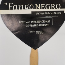 "Object for the production, ""Fango negro"""