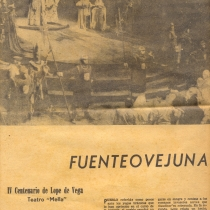 "Review for the production, ""Fuenteovejuna"""