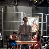 "Photograph of a Rehearsal, ""Fango"" (Miami)"