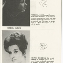 "Program for the production, ""Mujer de trapo"""