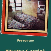 "Advertising postcard for the production, ""Electra Garrigó"" (Havana, 2008)"
