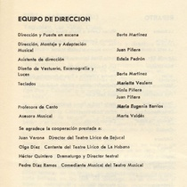 "Program for the production ""El boticario"""