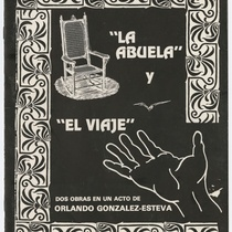 "Program for the productions, ""La abuela"" and ""El viaje"""