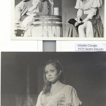 Photographs of the production, Madre Coraje