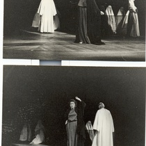 Micheline Calvert in the production, La casa de Bernarda Alba