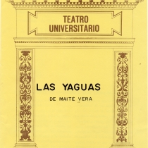 "Program for the production, ""Las yaguas"""