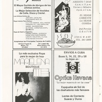 "Program for the production, ""¡Luna de miel... 25 años después!"""