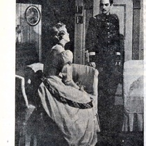 "Press clippings of the production, ""Un día de octubre"" (Havana, 1949)"