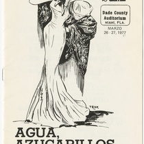 "Program for the production, ""Agua, azucarillos y aguardiente"""