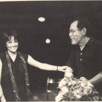 Adria Santana and Abelardo Estorino, 1989