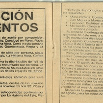 "Program for the production, ""Manteca"""