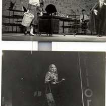 Photographs of the production, El saco de gamuza