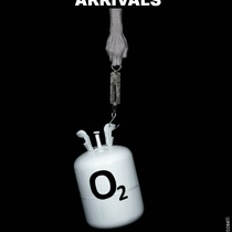 "Poster for the production, ""Arrivals"""
