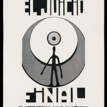 "Poster for the production, ""El juicio final"""