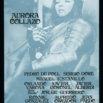 "Poster for the production , ""Juana de Arco"""