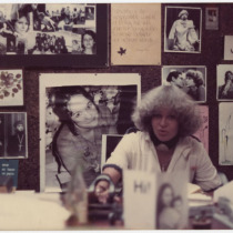Teresa María Rojas, in her office in an interview