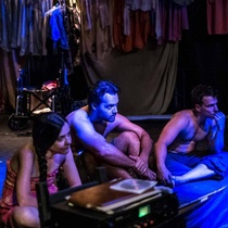 "Photographs of a rehearsal , ""Fango"" (Miami)"