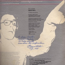 Autographed album cover for El Super