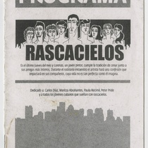 "Program for the production ""Rascacielos"""