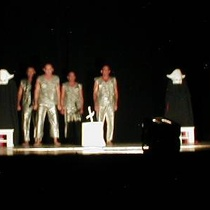 "Photograph of the production, ""La Balada de la Cárcel de Reading"""
