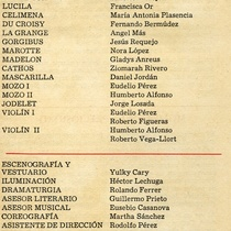 Program for the production, Las preciosas ridículas