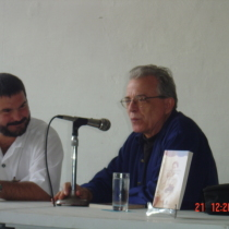 Omar Valiño and Antón Arrufat