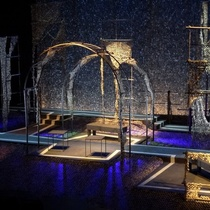 "Stage design for the production, ""El Malentendido"""