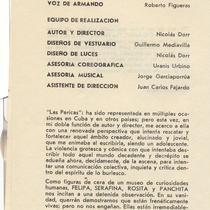 "Program for the production, ""El caso de los libros que nadie solicita"""