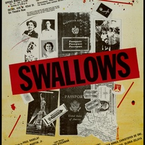 "Poster for the production, ""Swallows"""
